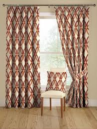 Patterned Window Curtains Stunning Patterned Window Curtains Designs With Best 25 Geometric