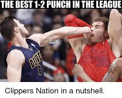 Clippers Meme - the best 1 2 punch in the league nbamemes clippers nation in a