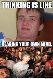 Guy Reading Book Meme - 10 guy on thinking weknowmemes