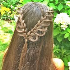 hair braiding styles long hair hang back 75 best tie back hairstyles images on pinterest tie ties and
