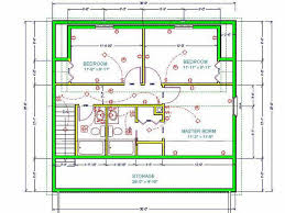 cabin floor plan cabin floor plan sds plans