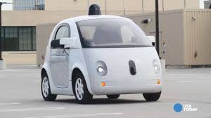 Google Pod by Google Self Driving Car Prototype Meets The Press