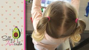 hair styles in two ponies ponytails 6 easy back to school ponytail hairstyles for toddler