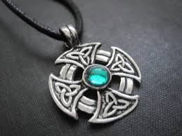 celtic iron cross cord necklace vs jewelry