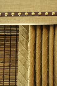 custom drapery designs llc cornice board woven wood blind