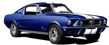 ford gt mustang 1968 ford mustang gt 390 blue by drogobroadband on deviantart