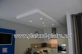 plafond de cuisine cuisine moderne des idées de faux plafond plafond platre