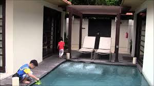 amara sanctuary resort sentosa two bedroom pool villa youtube