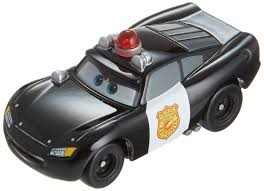 cars sally cars tomica c 36 lightning mcqueen police type amazon co uk