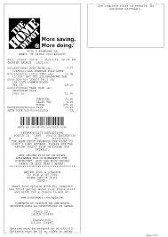 Home Depot Resume Sample Home Depot Receipt Template Best Business Template