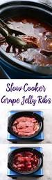 slow cooker grape jelly ribs recipe grape jelly potlucks and