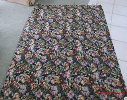 Waverly Upholstery Fabric Sales Vintage Upholstery Fabric Etsy