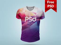 t shirt mockup psd template by psd freebies dribbble