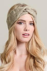 top knot headband marled knit top knot headband
