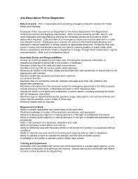 Resume Template For Government Jobs by Trucking Dispatcher Resume Sample Virtren Com