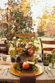 20 elegant thanksgiving table decorations ideas