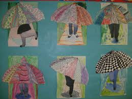 awesome art projects 4th grade umbrellas art lessons for art