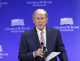 What Is The Iron Curtain Speech Transcript George W Bush Speech At Lincoln Center In New York