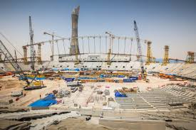 khalifa international stadium growing sky wards supreme