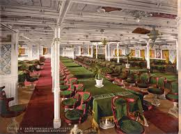 titanic first class dining room historic photo first class dining room of the ocean liner