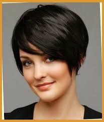 hairstyle for fat oval face short hairstyles for thick hair and fat faces within short