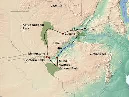 Victoria Falls Map Zambezi Valley U0026 Beyond Experience Jenman African Safaris