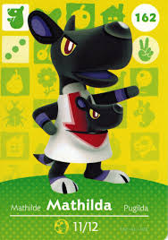 Homedesigner Nintendo Animal Crossing Happy Home Designer Amiibo Card Mathilda