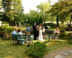 small wedding ceremony small garden wedding ceremonies in canandaigua ny at sonnenberg