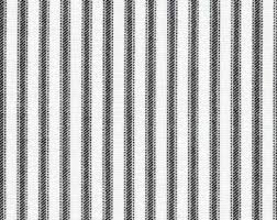 And Black Fabric For Curtains Black Ticking Stripe Etsy