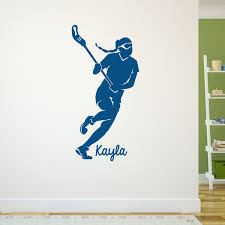 wall decal best of lacrosse wall decals lacrosse decals girls lacrosse wall decals lacrosse removable chalktalkgraphix wall decal personalized lacrosse girl silhouette
