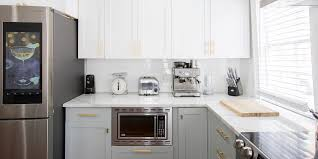 do kitchen cabinets go on sale at home depot the most popular kitchen cabinet colors and styles real simple