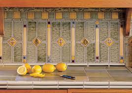 arts u0026 crafts kitchen backsplash pratt u0026 larson
