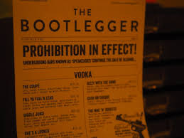 eating out the bootlegger