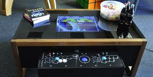 coffee table game console coffee table mame console consoles arcade and video games