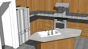 Kitchen Designing Sketchup Kitchen Design