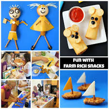 food crafts with farm rich snacks the decorated cookie