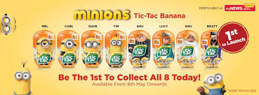 where to buy minion tic tacs mynews 1st launched limited edition minions tic tac banana