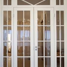 clever white french doors plain panel white interior doors french