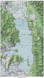 Montana travel maps images Flathead lake map go northwest a travel guide jpg