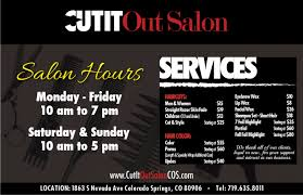 cut it out salon colorado springs google