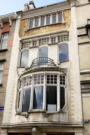 Art Deco Balcony by Victor Horta Art Nouveau Architect Vironevaeh