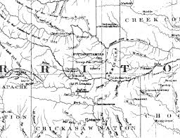 Map Of The Louisiana Purchase by Chesnut Ranch Maps U0026 Resources For Indian Territory Dannychesnut Com