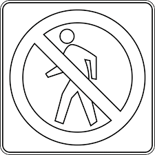 safety signs coloring pages bestofcoloring com coloring home