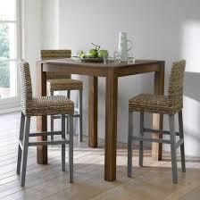 chaise de bar la redoute autre image chaise de bar en manguier et kubu lunja la redoute