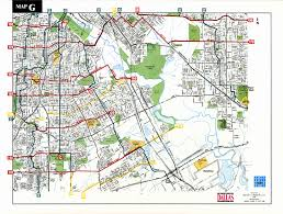 Map Dallas Bike Map G