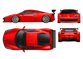 ferrari back desktop ride in style ferrari decal design competition on car back