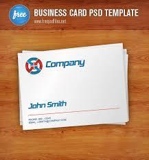 free business card psd template free vector 365psd com