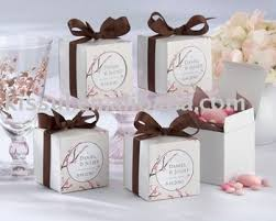 personalized wedding favor boxes wedding favors cherry blossoms personalized favor box kit buy