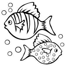 12 pics fish bubbles coloring pages cartoon fish coloring
