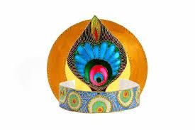 How To Decorate Janmashtami At Home Krishna Janmashtami How To Make A Krishna Crown Artsy Craftsy Mom